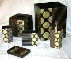 brown and green bathroom accessories. Green Bathroom Accessories Sets Metro Sage Brown 6 Piece Set Glass And Yorokobaseya.info