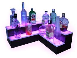Small Corner Bar Recent Projects Corner Back Bar Displays Island Liquor Displays