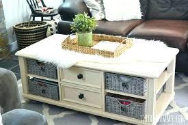 round wicker coffee table vintage white outdoor au
