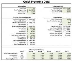 Real Estate Proforma Excel Model Template