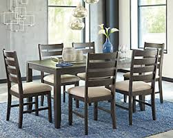 dining room sets. Large Rokane Dining Room Table And Chairs (Set Of 7), , Rollover Sets A
