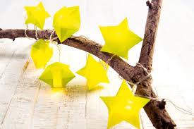 Sterne Basteln Für Eine Weihnachtliche Lichterkette Familiede