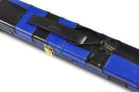 peradon one piece wide black blue genuine leather case