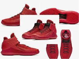 jordan 32 shoes. shoes jordan 32 air corsa aa1253-601 black rosso gym red retail price