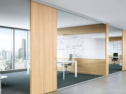 glass office wall. fimo sliding office module glass wall