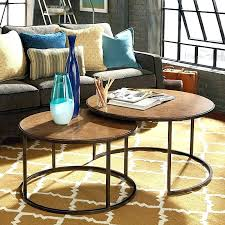 round nesting tables metal round nesting coffee tables round nesting cocktail table khaki oil rubbed bronze round nesting coffee tables nesting tables glass
