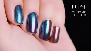 Opi Dip Powder Color Chart Opi Chrome Effects Holographic Nails