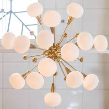 murano glass globe chandelier