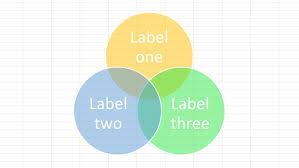 Venn Diagram In Excel Based On Data Data Viz Guide Venn Diagram