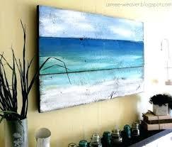 beach wall art best the art of the ocean images on beach wall decor beach themed