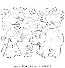 Coloring Pages Forest Animals Forest Animals Coloring Pages Lovely 26 Coloring Pages Forest