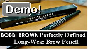 <b>Bobbi Brown Eyebrow</b> Shaping Pencil Makeup Demo | Perfectly ...