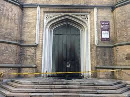 Decorating trinity doors pics : Church of the Holy Trinity looks to repurpose doors burned in fire ...