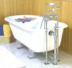 installing a cast iron tub excellent design ideas install bathtub with painting remove old drain ready