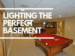 lighting a basement. Lighting A Basement M