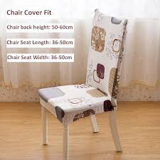 universal chair cover super elastic restaurant chair cover office computer seat covers stoelhoes eetkamer kitchen chair