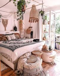 modern bohemian bedroom decor ideas