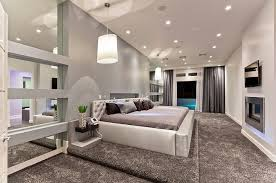 view in gallery creating a single focal point the bedroom fireplace lighting with tv p61 lighting