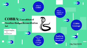 Cobra Qualifying Events Chart Cobra Consolidated Omnibus Budget Reconciliation Act By
