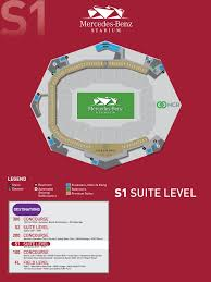Mercedes Seating Chart Atlanta The Most Elegant And Also Interesting Mercedes Benz Stadium