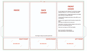 8 5 X 11 Trifold Template Blank Design Templates