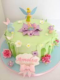 Tinkerbell Birthday Cake O Disney Cakes O Tinkerbell