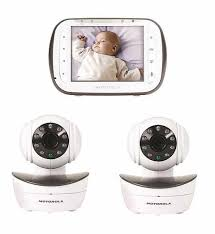 motorola wifi baby monitor. top 10 motorola mbp43-2 best baby monitor with 2 cameras and night vision wifi