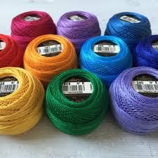 Dmc Pearl Cotton 8 Color Chart Dmc Pearl Cotton Thread Cotton Hand Embroidery Floss