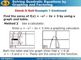 solve quadratic equation graph calculator tessshlo