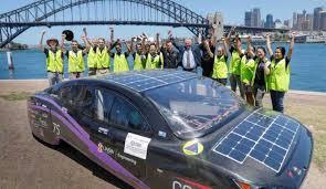 Automotive Design Australia Student Designed Electric Car Breaks World Record By