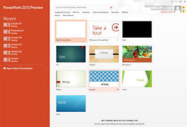 Design For Powerpoint 2013 A Review Of The Powerpoint 2013 Interface Presentation Xpert
