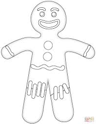 Small Picture printable gingerbread man coloring page for kids toadz toyz 254375