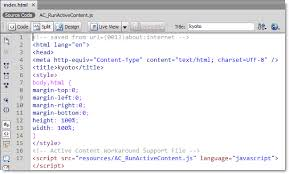 Incorporating an Adobe Bridge Web Gallery: Alternative Method