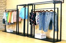 clothes storage rack double rod wardrobe racks portable clothes storage closet big grey garment clothes