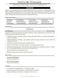 Certifications On A Resume Example Examples Of Resumes