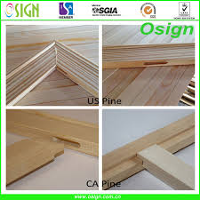 canvas fabric painting frame oil painting wood frames pine canvas strecher