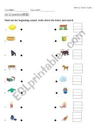 Kindergartners, teachers, and parents who we hope that these english phonics worksheets serve as a good supplemental learning tool for. Aa Ll Phonics And Writing Practice Esl Worksheet By Yitinhuang