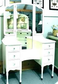 corner makeup vanity set table desk target inter