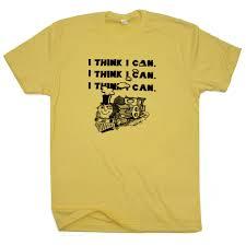 I Think I Can T Shirt Vintage Train T Shirt Graphic