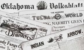 Newspaper The Gateway To Oklahoma History 18