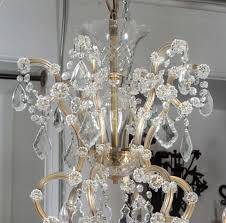 marie therese crystal chandelier from the plaza hotel nyc in excellent condition for in