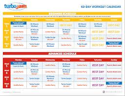 turbo jam calendar