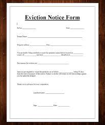 Free Eviction Notice Template Sample Eviction Notice Form 12 Free Eviction Notice Templates For Download Designyep