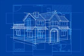 Simple Blueprint Simple Blueprint Building Vectors Design 05 Free Download