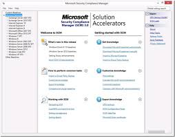 Security Complaince Microsoft Security Compliance Manager For Windows Windows Server