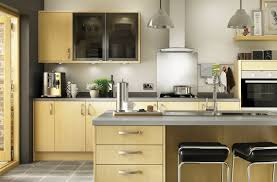 Maple Kitchen Slab Style Maple Kitchens Options Range Benchmarx Kitchens