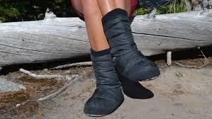 Sierra Designs Down Socks Gear Review Sierra Designs Pull On Down Bootie Powder