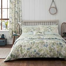sanderson abbeville bedding in duck egg