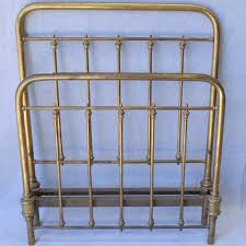 antique brass bed. Victorian Single Brass Bed Antique T