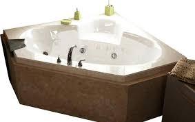 tubs sublime inch corner whirlpool jetted bathtub bathroom jacuzzi contemporary bathtubs